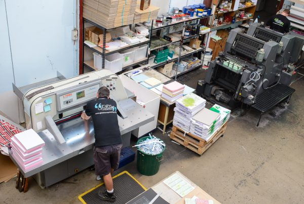Gladstone Printing Services Workshop