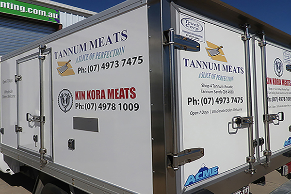 Tannum Meats decals